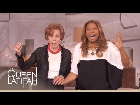 Carol Burnett and Queen Latifah Sing Carol's Classic Sign-Off Song
