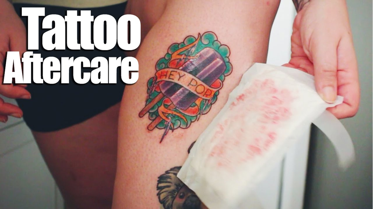 Tattoo Aftercare Youtube