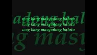 UPUAN - GLOC 9 ft. ZELLE (Lyrics)