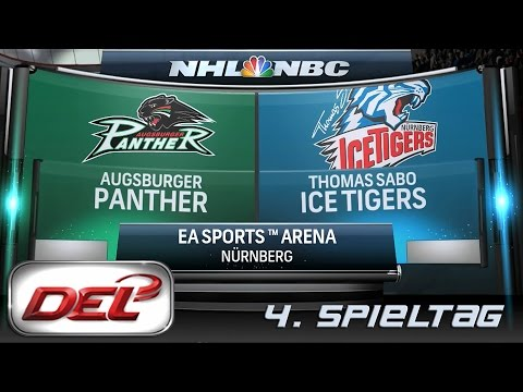 Deutsche Eishockey Liga [DEL] #004 - Thomas Sabo Ice Tigers - Augsburger Panther ★ Let's Commentary