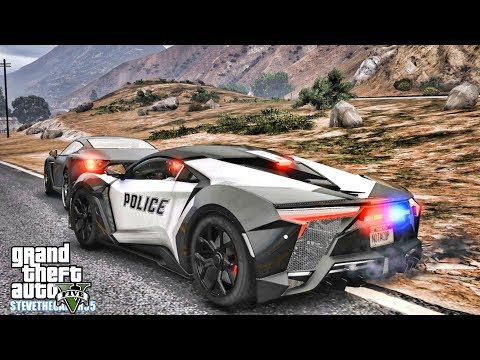 GTA 5 MODS LSPDFR 0.4.1 – W MOTORS FENYR SUPERSPORT!!! (GTA 5 REAL LIFE PC MOD)