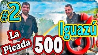 Las Cataratas de Iguazú. La Picada 500. Episodio (2/8) Viajar en moto por Sudamerica