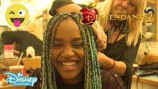 descendants 2   get ready with china anne mcclain   official disney channel uk