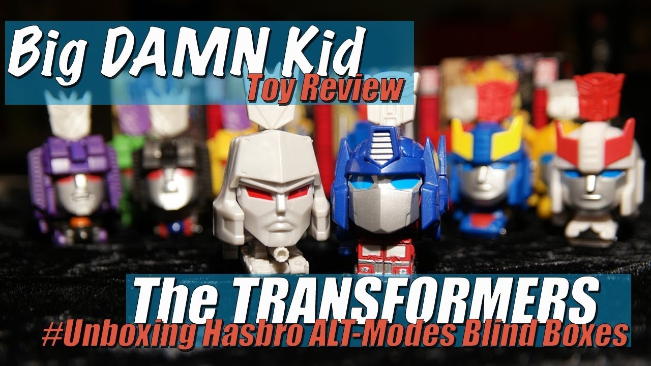 Unboxing A Bunch Of Hasbro Alt Modes Blind Box