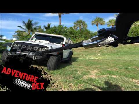 How to Install a Jeep Winch!