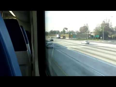 Metrolink ride from El Monte To L.A. Union Station