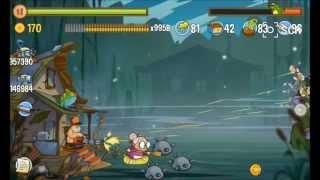 Swamp Attack - farting monster ( EPISODE 6, LEVEL 24)