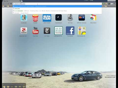 "Google Chrome Browser ""Enable Instant Search"""