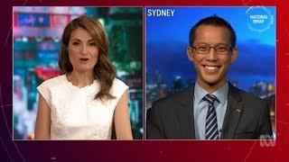 Eddie Woo on ABC National Wrap