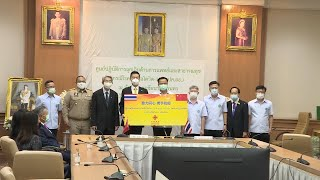 GLOBALink | Thailand receives China-donated COVID-19 vaccines