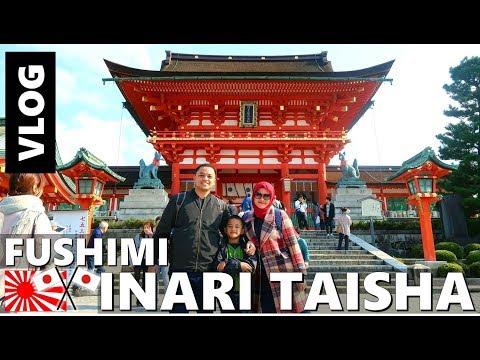 FUSHIMI INARI TAISHA KYOTO JEPANG! CAKEP BANGET! JAPAN VLOG   Vlog Keluarga   Vlog Indonesia