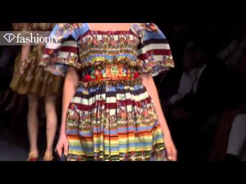Dolce & Gabbana коллекция весна-лето 2013