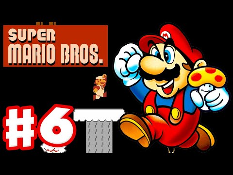 Super Mario Bros. - Gameplay Walkthrough Part 6 - World 6 (NES)