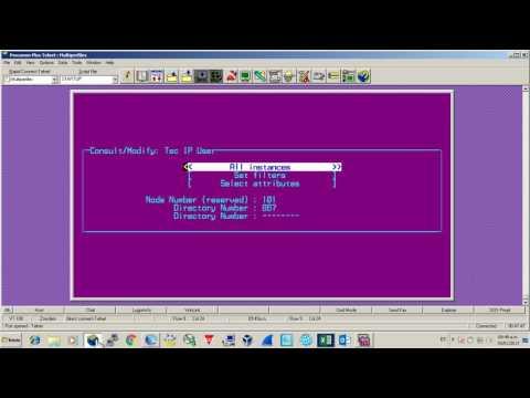 Configuracion PBX alcatel omnipcx - setup alcatel pbx omnipcx