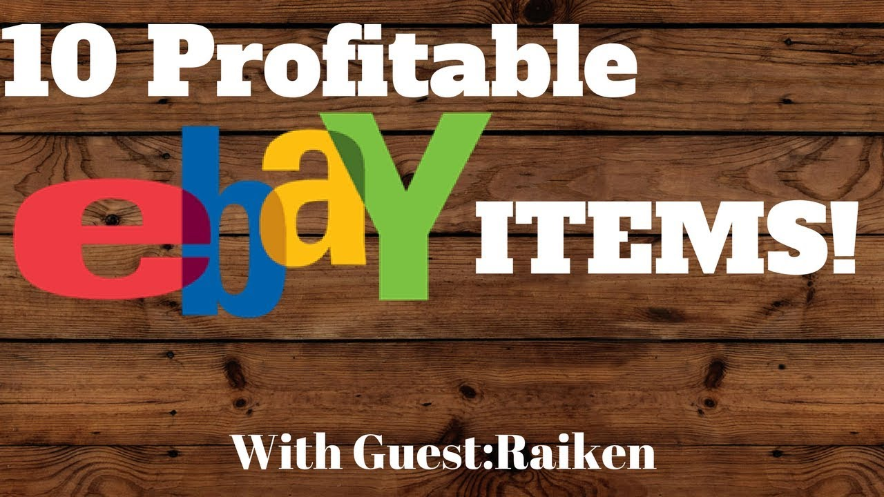 how to find profitable items to sell on ebay