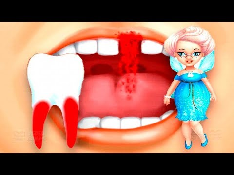 Fun Sweet Baby Girls Care Kids Game Tooth Fairy - Learn Play Colors Makeover Teeth Cleaning Games