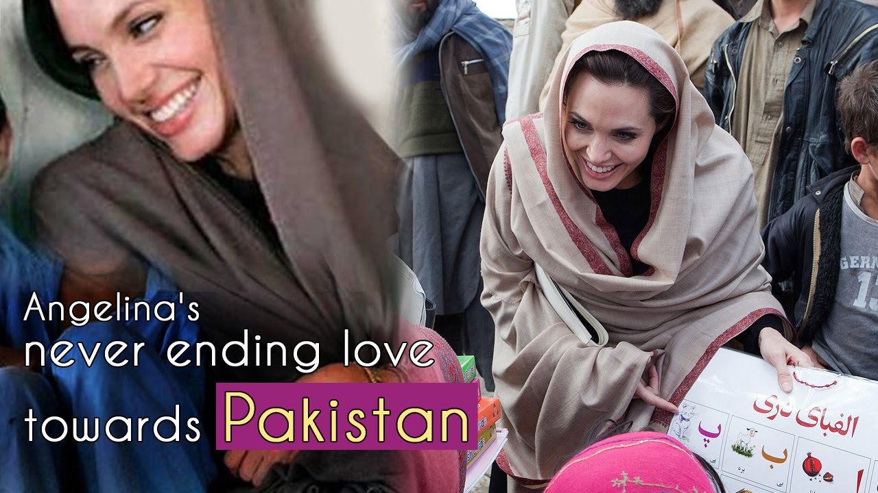 Angelina's Never Ending Love Towards Pakistan