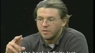 David Foster Wallace: The future of fiction in the information age