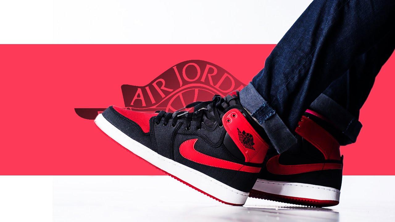 51efe9fa0 Nike Air Jordan 1 Retro Bred KO High - Detailed Photos + Release Info -  YouTube