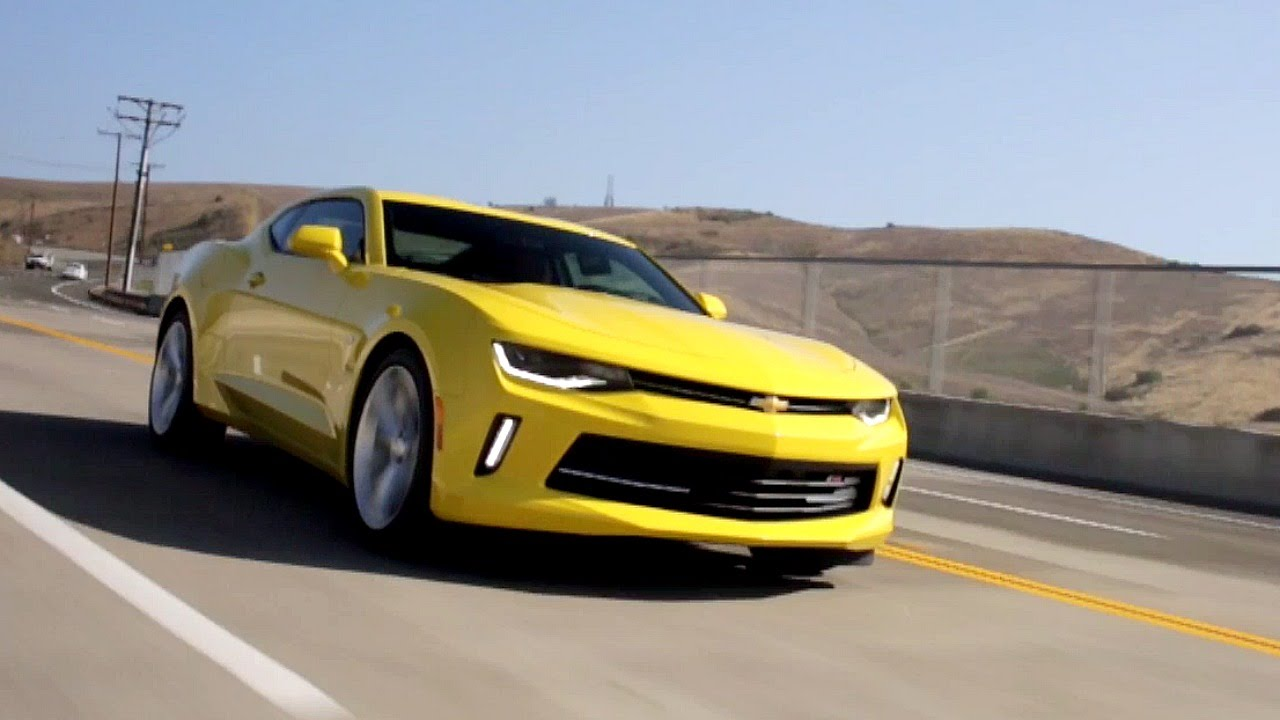 2017 Chevrolet Camaro - Review and Road Test - YouTube