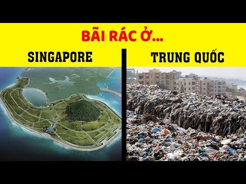 Công nghệ xử lý rác của Singapore hiện đại cỡ nào?