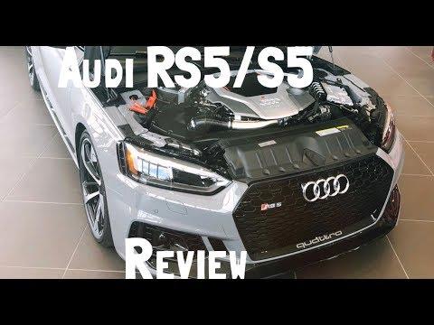 Audi RS5/S5 Reveiw  @Audi North Miami