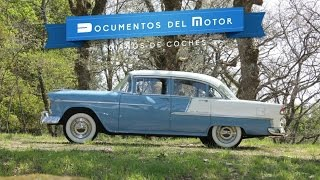 Chevrolet Bel Air 4p 1955- www.documentosdelmotor.com
