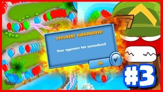 how to make your enemy rage quit bloons td battles funny moments new btd battles part 3