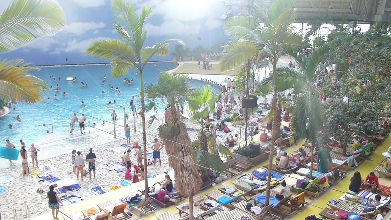 Tropical Island Paradise: TROPICAL ISLANDS BERLIN GERMANY 2014 PARADISE PLACE IN