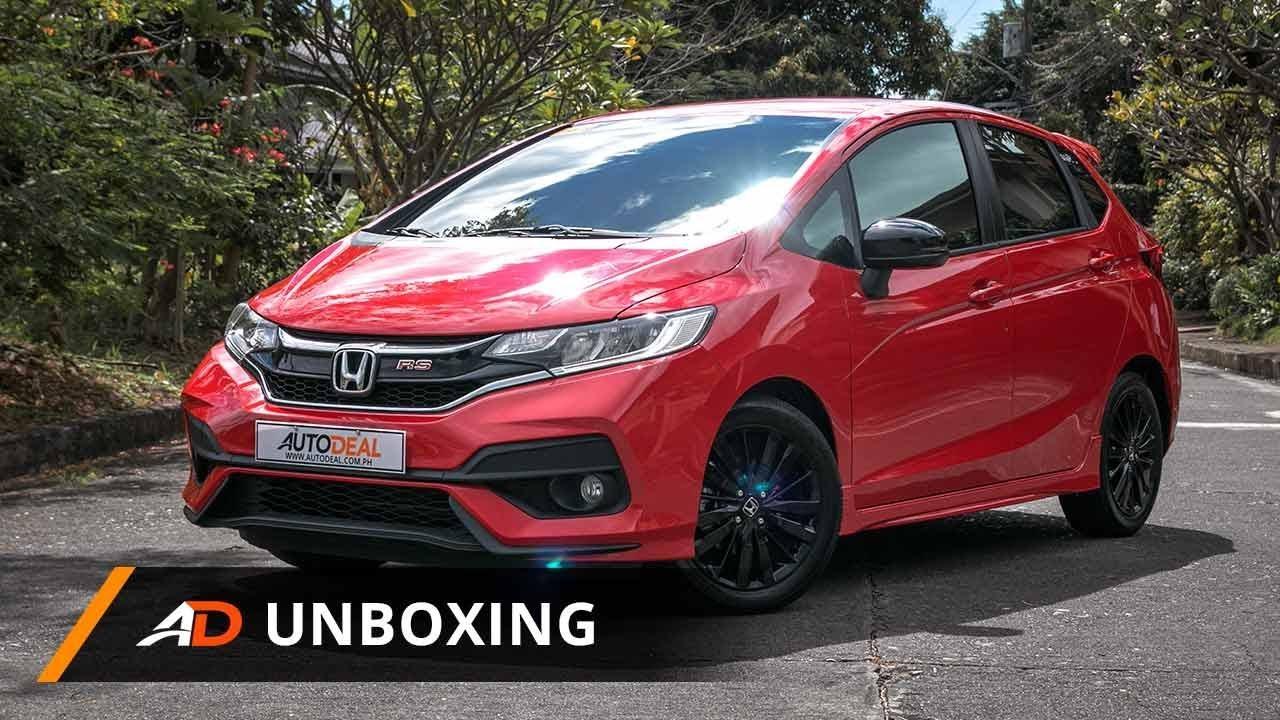 2018 Honda Jazz 15 Rs Navi Cvt Autodeal Unboxing Youtube