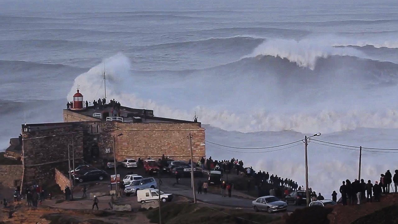 Andrew Cotton and Garrett McNamara Hunt for XXL Big Wave at Nazaré | Behind the Lines, Teaser