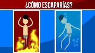 ¿CÓMO ESCAPARÍAS A LA MUERTE? - ACERTIJOS IMPOSIBLES thumbnail