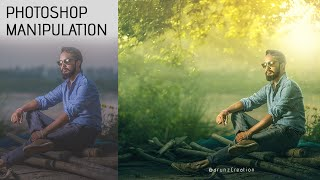 Photoshop High Class Compositing & Manipulation | yellow light Effects