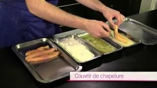 Les poissons - Paner et frire un poisson - CAP Cuisine