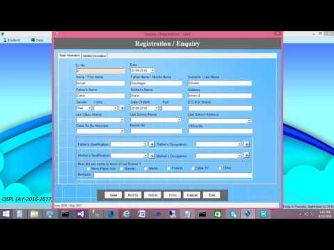 17 eSchool Enquiry Management Student Enquiry Form mp4