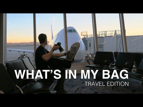 Landscape Photography: What's in my Bag - Travel Edition