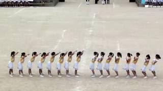 2016年 福岡県立城南高等学校 応援合戦 黄ブロック