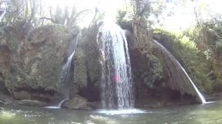 Cascade du grand Baou, au Val dans le VAR (83)