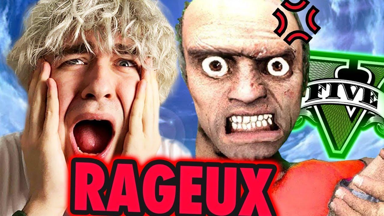 Je MALTRAITE un RAGEUX VIOLEMMENT sur GTA 5 RP ! 🤣
