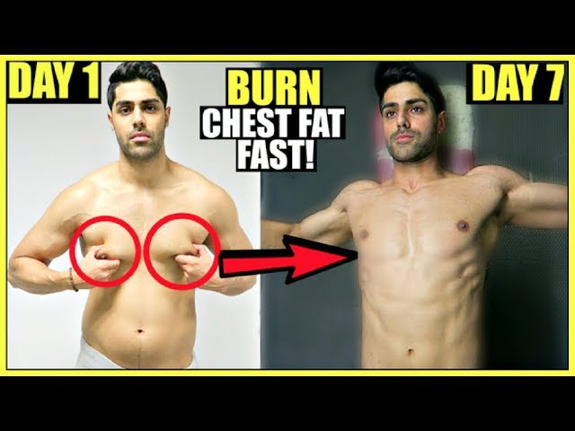 How To Lose CHEST FAT In 1 Week | WORKOUT PLAN - Clutch Grip