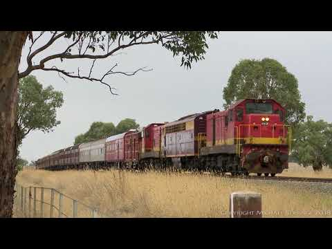 LVR Heritage Train In NSW: 49, 42 & 32 class Locomotives - P