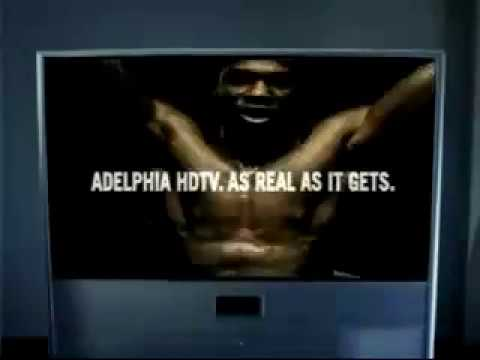 Michael Roof in Adelphia Cable HD  HDTV Boxing Commercial 2004 directed by Rob Cohen