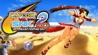 Capcom Vs. SNK 2 EO playthrough (Gamecube)