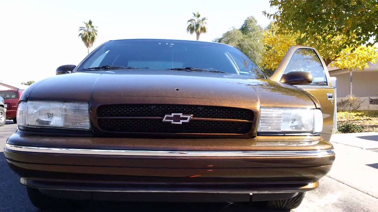 Outrageous chevy caprice
