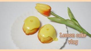 직장인홈베이킹 | 레몬케이크만들기 | 직접만들어더찐한레…