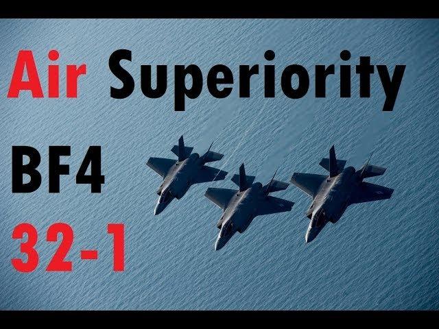 BF4 Air Superiority Jet Gameplay | 32-1 in 10 minutes - Altai Range | Turbopummel