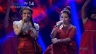 Video Ayu Ting Ting & Julia Perez - Sambalado [Amazing 14 Global TV] download MP3, 3GP, MP4, WEBM, AVI, FLV Oktober 2017