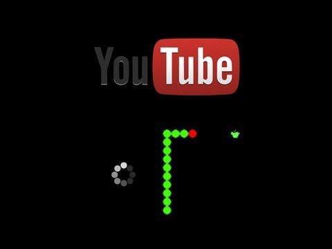 Youtube Buffering snake game