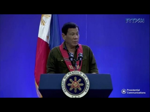 Duterte: China threatened war