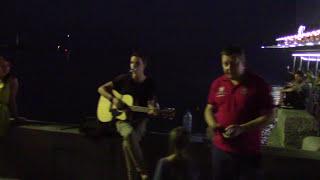 Крым, Ялта 2015, набережная.(Обычный субботний вечер на набережной Ялты. Видео снято 25 июля 2015 года., 2015-07-28T19:09:16.000Z)
